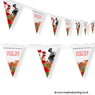 Remembrance Sunday Bunting Design 2